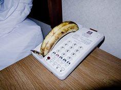 Tumblr #motel #banana #phone