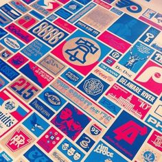 Tumblr #philadelphia #instagram #print #grid #screen #draplin