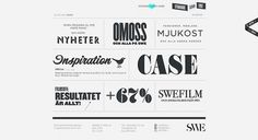 Beautiful Typography: 50 Inspiring Examples #typography #web design