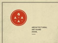 FFFFOUND! | Dribbble - AAA by Curtis Jinkins #logo #branding