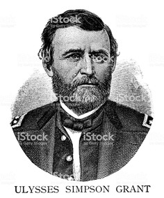 Ulysses Simpson Grant royalty-free ulysses simpson grant stock vector art & more images of 19th century