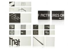 Pictures Of You - Book on the Behance Network #white #black #editorial design