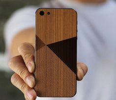 iPhone 5 Wood Skin By BlissfulCase #gadget