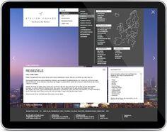 Die neue Atelier Voyage Website #atelier #voyage #idco #frick #michael
