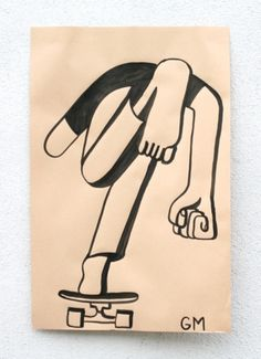 b. nakey #geoffmcfetridge #illustration