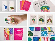 Vårdapoteket - Kari Modén Illustration #illustration #pattern #brand #medical