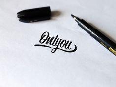Typeverything: Photo #typography #pencil #script