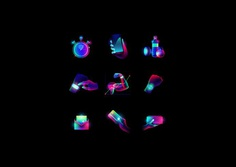 AURA BAND Set of illustrations and icons on Behance