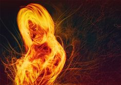 Stop Haunt Me Everyday Collection on the Behance Network #of #fire #woman