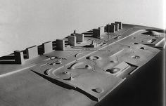 Isamu Noguchi _ Edward D. Stone Jefferson National Expansion Memorial Competition proposal, 1947 on Flickr Photo Sharing! #urbanism #isamu #architecture #noguchi