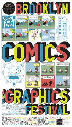 Brooklyn Comics and Graphics Festival   50 Watts