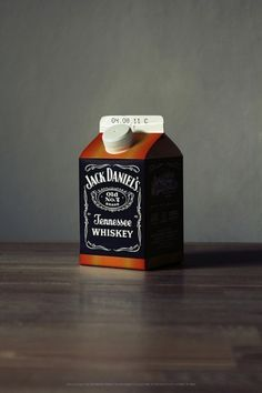 Alcohol Milk Packaging | Fubiz™ #packaging #alcohol #jack #daniels