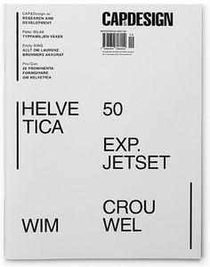Research and Development #swiss #magazine #helvetica #anniversary #capdesign
