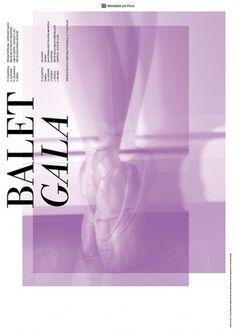 Buamai - Martin BuÅ ek - Balet Gala #design #graphic #poster
