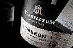 Braufactum – Feine Bierkultur #beer #print #black #label