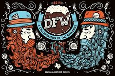 DFW: Collaboration Beer - by All The Pretty Colors (Nathan Walker)