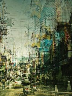 Flavorwire » Electrifying Multiple-Exposure Photos of Japan #art