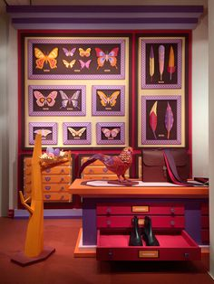 paper art #design #spaces #leather #art