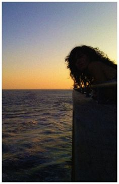 John Helmuth | Portfolio #ocean #water #girl #summer #sunset