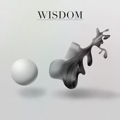 All sizes | WISDOM | Flickr - Photo Sharing! #white #black #wisdom #didot #minimal #and