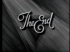 The End Title Card