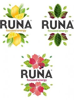 Runa Gonna Get You Going - Brand New #packaging #identity #typography