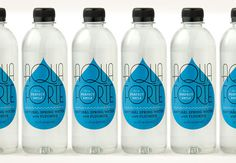 Aqua Forte | Louise Fili Ltd #packaging #water