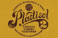 Plastisol 2 Vintage T-Shirt Textures