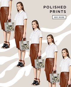 Shop Polished Prints at The Official Loeffler Randall Online Store LoefflerRandall.com #randall #loeffler #email