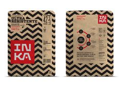 Crit* Inka Cement The Dieline #back #front