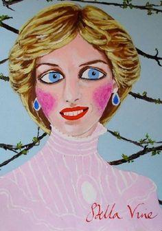 HUH. Magazine - Stella Vine #painting #bright #art
