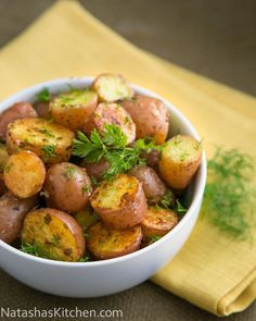 Oven Roasted Baby Red Potatoes #potato
