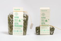 GreenLife // Tea packaging byFilip Nemet #packaging