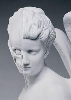 Damien Hirst, anatomy of an angel   postcard