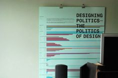 Politics of Design Poster - Infographics #information #infographic #color #linear
