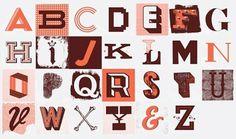 GraphicHug™ – Everybody Needs a Hug » John Boilard's Letter Collection #typography