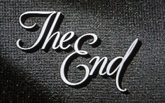 the-end1.jpg (JPEG Image, 447x280 pixels) #the #end #typography
