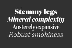 The Domaine superset from Klim — 46 styles for text & display