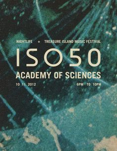 ISO50 Pop Up Shop: San Francisco Tonight » ISO50 Blog – The Blog of Scott Hansen (Tycho / ISO50) #iso50 #scott hansen #flyer