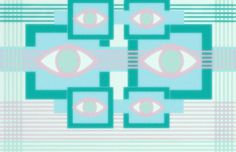 gettingthere by ~fxckcaleb on deviantART #eyes #eye #illustration #square #light