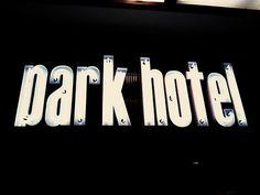 Typography(Barcelona, by Johan Thorsell) #sign #neon