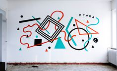 Tokae\'s graffiti
