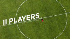 11 Players Magazine - Diego Aguilar #logo