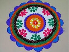 Simple Diwali Rangoli Designs And Patterns