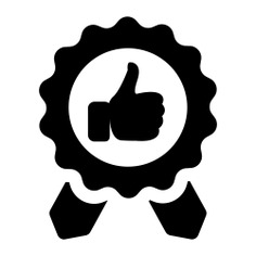See more icon inspiration related to medal, reward, award, badge, insignia, business and emblem on Flaticon.