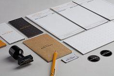 Berg & Berg | Identity Designed #stamp #branding #stationery