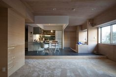 Apartment for K by Kurosawa Kawara-ten #interior #ideas #apartment #design