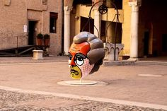Craig & Karl - Michelangelo Antonioni #sculpture #art #street