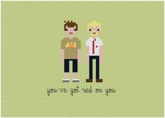 Embroidered samplers put scifi heroes in stitches #pixel