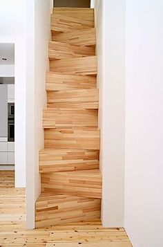 FFFFOUND! | M O O D #wood #craft #stairs